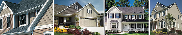 Montage of Siding Photos